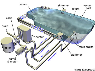 Pool Diagram Swimming Pools Maintenance